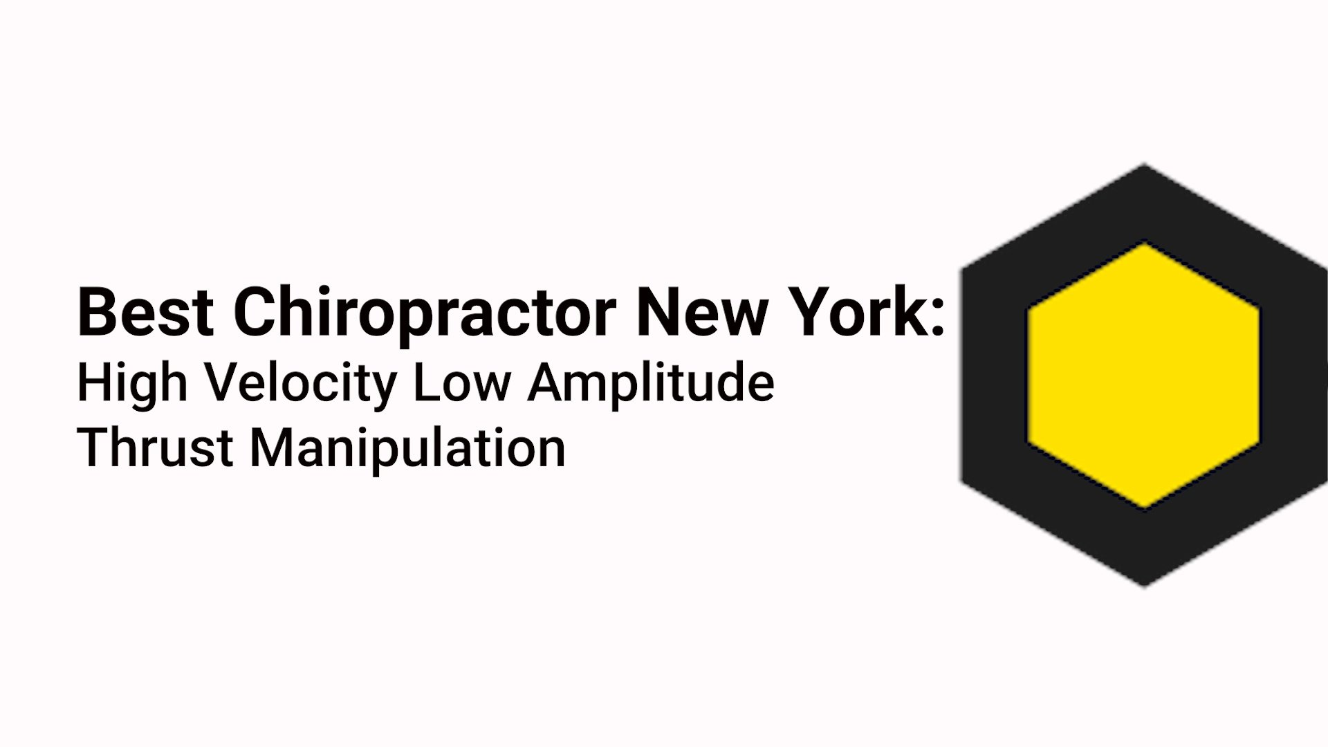 best chiropractor new york
