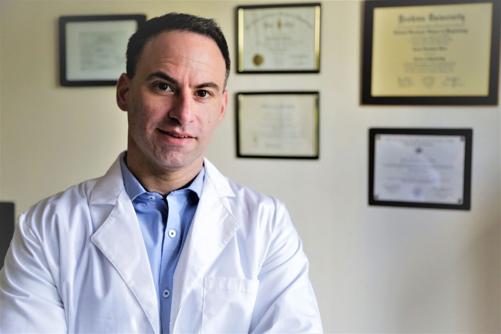 Dr. Ofir Isaac of ALLCARE Physical Therapy in Brooklyn NY
